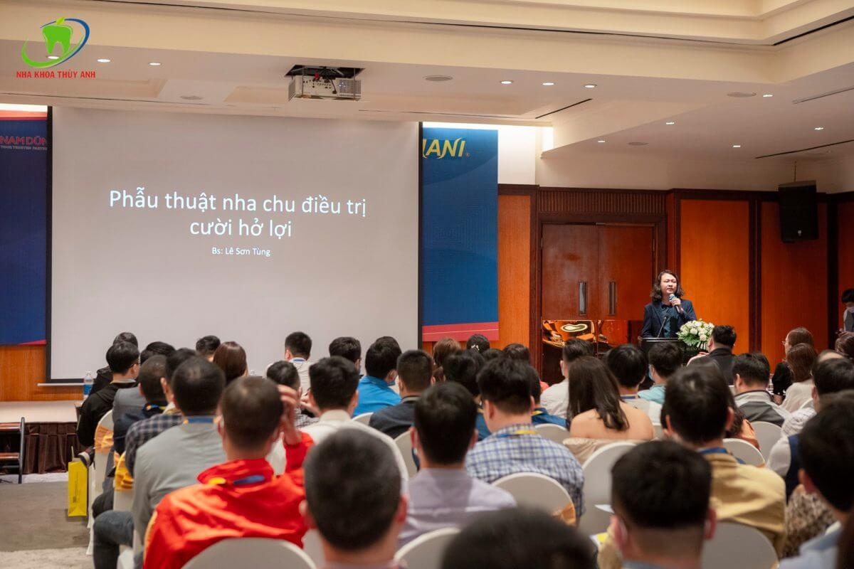Hội thảo khoa học phẫu thuật cắt lợi điều trị cười hở lợi nâng cao tại Hà Nội – Diễn giả: bs Lê Sơn Tùng, Giám Đốc Chuyên Môn Nha Khoa Thùy Anh