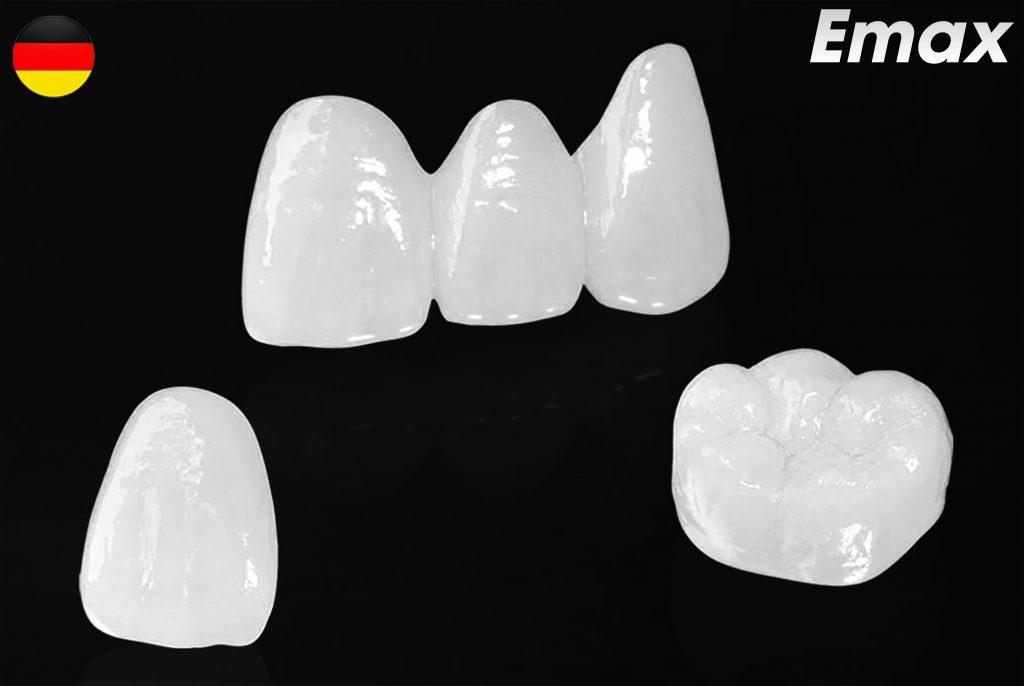 Các loại răng sứ cao cấp tại nha khoa Thùy Anh