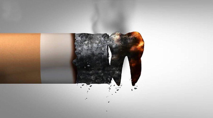 Tác hại của thuốc lá với răng implant? Hút thuốc có trồng được implant không?