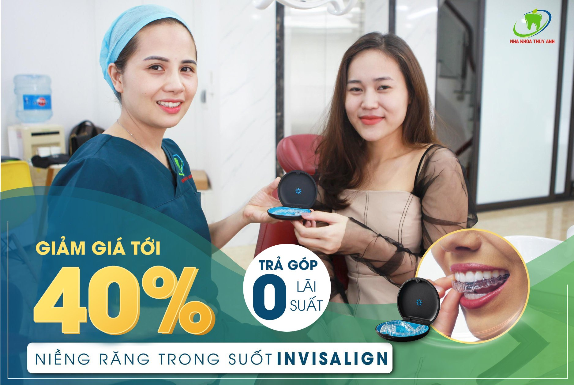 Địa chỉ niềng răng invisalign trả góp uy tín số 1 Hà Nội